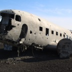 Solheimasandur Beach plane wreckage